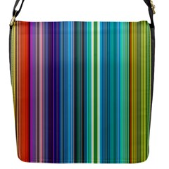 Color Stripes Flap Messenger Bag (s) by Simbadda
