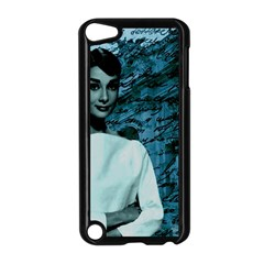 Audrey Hepburn Apple Ipod Touch 5 Case (black) by Valentinaart