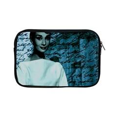 Audrey Hepburn Apple Ipad Mini Zipper Cases by Valentinaart