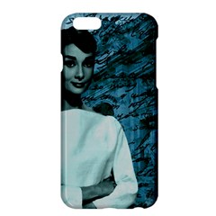 Audrey Hepburn Apple Iphone 6 Plus/6s Plus Hardshell Case by Valentinaart