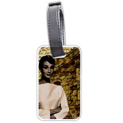Audrey Hepburn Luggage Tags (two Sides) by Valentinaart