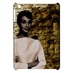 Audrey Hepburn Apple Ipad Mini Hardshell Case by Valentinaart