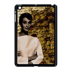 Audrey Hepburn Apple Ipad Mini Case (black) by Valentinaart