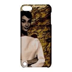 Audrey Hepburn Apple Ipod Touch 5 Hardshell Case With Stand by Valentinaart