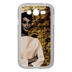 Audrey Hepburn Samsung Galaxy Grand DUOS I9082 Case (White)