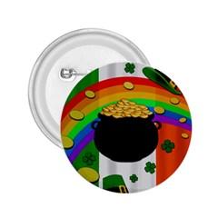 Pot Of Gold 2 25  Buttons by Valentinaart