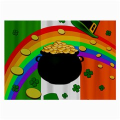 Pot Of Gold Large Glasses Cloth by Valentinaart