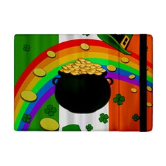 Pot Of Gold Apple Ipad Mini Flip Case by Valentinaart