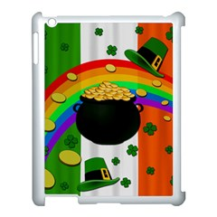 Pot Of Gold Apple Ipad 3/4 Case (white) by Valentinaart