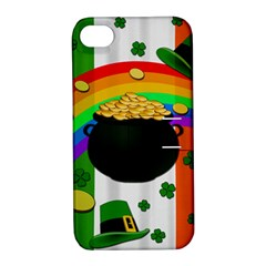 Pot Of Gold Apple Iphone 4/4s Hardshell Case With Stand by Valentinaart