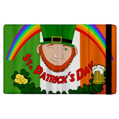 St  Patricks Day  Apple Ipad 2 Flip Case by Valentinaart