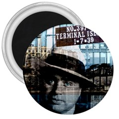 Al Capone  3  Magnets by Valentinaart