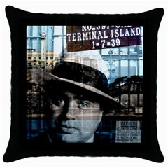 Al Capone  Throw Pillow Case (black) by Valentinaart