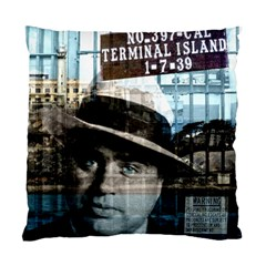 Al Capone  Standard Cushion Case (one Side) by Valentinaart