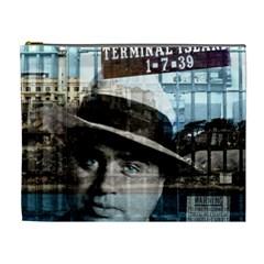 Al Capone  Cosmetic Bag (xl) by Valentinaart