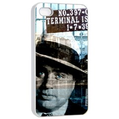 Al Capone  Apple Iphone 4/4s Seamless Case (white) by Valentinaart