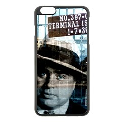 Al Capone  Apple Iphone 6 Plus/6s Plus Black Enamel Case by Valentinaart