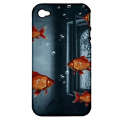 Natural Habitat Apple Iphone 4/4s Hardshell Case (pc+silicone) by Valentinaart