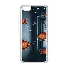 Natural Habitat Apple Iphone 5c Seamless Case (white) by Valentinaart