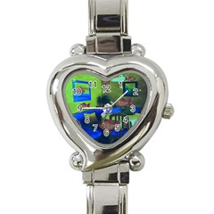 Natural Habitat Heart Italian Charm Watch by Valentinaart