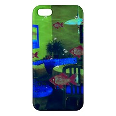 Natural Habitat Iphone 5s/ Se Premium Hardshell Case by Valentinaart