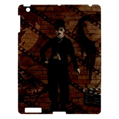 Charlie Chaplin  Apple Ipad 3/4 Hardshell Case by Valentinaart