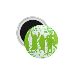 Saint Patrick Motif 1 75  Magnets by dflcprints