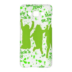 Saint Patrick Motif Samsung Galaxy A5 Hardshell Case  by dflcprints