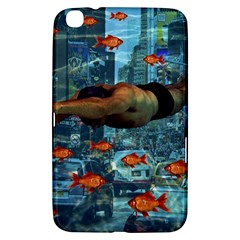 Urban Swimmers   Samsung Galaxy Tab 3 (8 ) T3100 Hardshell Case  by Valentinaart