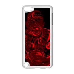 Warrior   Red Apple Ipod Touch 5 Case (white) by Valentinaart