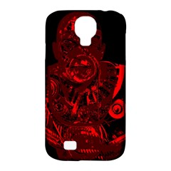 Warrior   Red Samsung Galaxy S4 Classic Hardshell Case (pc+silicone) by Valentinaart