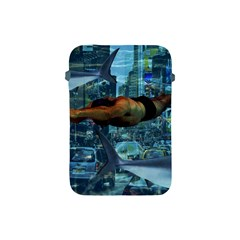 Urban Swimmers   Apple Ipad Mini Protective Soft Cases by Valentinaart