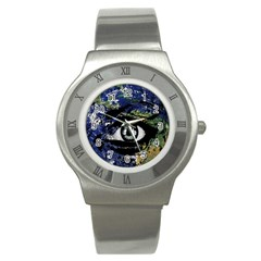 Mother Earth  Stainless Steel Watch by Valentinaart