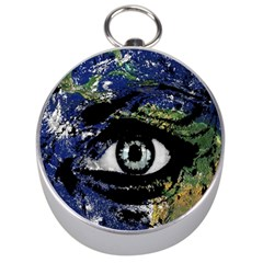 Mother Earth  Silver Compasses by Valentinaart