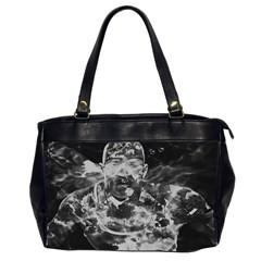 Angel Office Handbags (2 Sides)  by Valentinaart