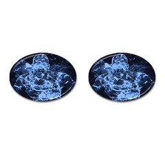 Blue Angel Cufflinks (oval) by Valentinaart