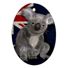 Australia  Ornament (oval) by Valentinaart