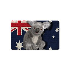 Australia  Magnet (Name Card) by Valentinaart