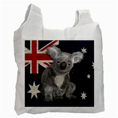 Australia  Recycle Bag (one Side) by Valentinaart