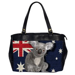 Australia  Office Handbags (2 Sides)  by Valentinaart