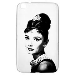 Audrey Hepburn Samsung Galaxy Tab 3 (8 ) T3100 Hardshell Case  by Valentinaart