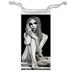 Stone Girl Jewelry Bag by Valentinaart