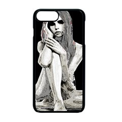 Stone Girl Apple Iphone 7 Plus Seamless Case (black) by Valentinaart