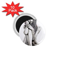 Stone Girl 1 75  Magnets (10 Pack)  by Valentinaart