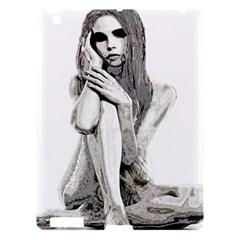 Stone Girl Apple Ipad 3/4 Hardshell Case by Valentinaart