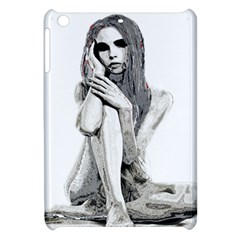 Stone Girl Apple Ipad Mini Hardshell Case by Valentinaart