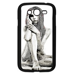 Stone girl Samsung Galaxy Grand DUOS I9082 Case (Black) by Valentinaart