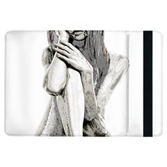 Stone Girl Ipad Air Flip by Valentinaart