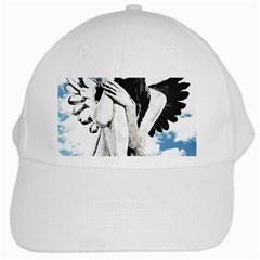Angel White Cap by Valentinaart
