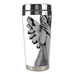 Stone Angel Stainless Steel Travel Tumblers by Valentinaart